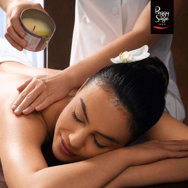 massagem velas